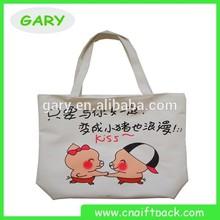 Eco-friendly Reusable Pvc Coated Cotton Shopping Bag