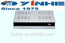 YINHE dvbs2 satellite receiver box for internet