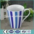 11oz calcomanía decorativos baratos taza de cerámica para la promoción