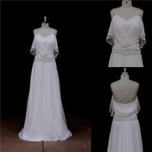 Popular rickrack blouse organza ball gown wedding dress 2014