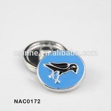 2014 fashion cheap wholesale fashion enamel snap press button jewelry NAC0172