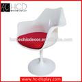 senza braccia sedia tulipano facile esterno in fibra di vetro per la vendita