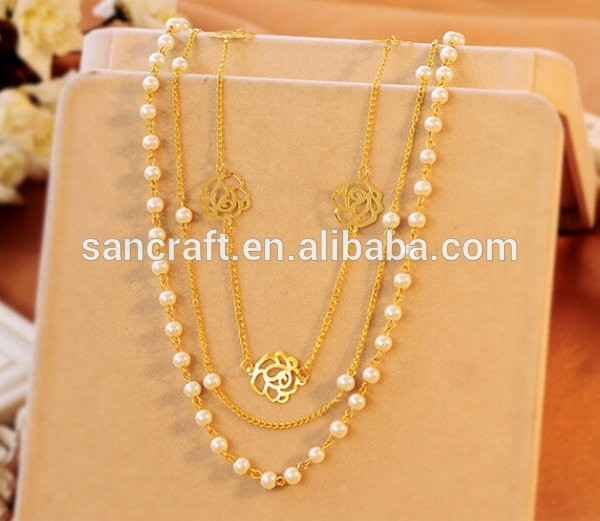 South Sea Pearls Necklace latest   Jewellery Designs