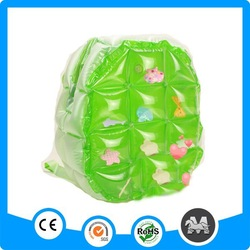 Cheap wholesale colorful kids plastic PVC inflatable backpack