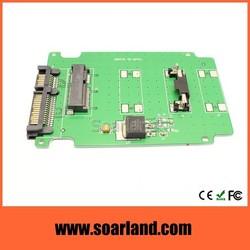 Factory direct msata to sata adapter card
