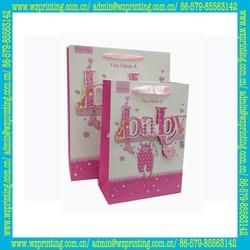 alibaba china custom fancy gift packaging 3d paper bag