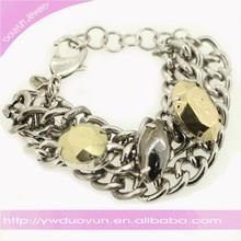 Custom Chain Stainless Steel Bracelets Jewelry