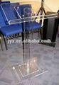 Claro organic glass púlpito de la iglesia, Vidrio acrílico púlpito para iglesia
