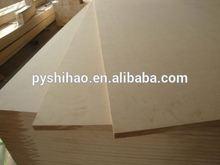 Low price good quality mdf melamine sheet and MDF fiberboard