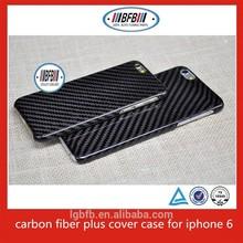carbon fiber plus cover phone case for iphone 6/iphone 6 plus
