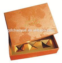 Ribbon bowknot cute matte art paper baby gift decorative box