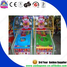 2015 China basketball arcade game machine, electronic basketball scoring machine