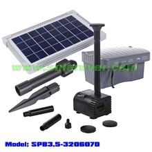 OEM/ODM customizable solar powered low water cut off pond pump (SPB3.5-320607D)