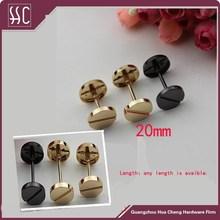 Factory Wholesale Bag Hardware Accessories 20mm Decorative Rivet For Shoe /Garment