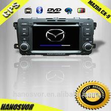 Mazda cx-9 cd mp3 mp4 car dvd player