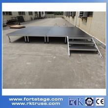 Aluminium Adjustable Height Performance Portable stage