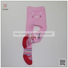 Cute girls cotton custom printed tights