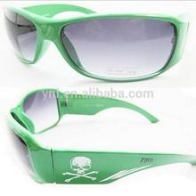 Carnival Green plastic sunglasses glasses