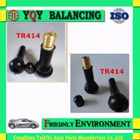 Best seller Tr414 EPDM rubber Tire Valve