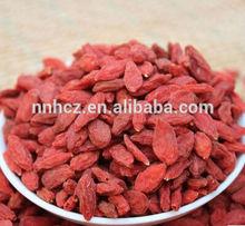 Ningxia zhongning Organic goji berries in dried fruits