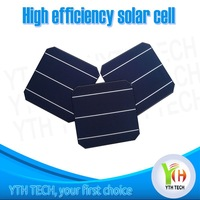 2014 hottest competitive price high efficiency mono pv solar cell 4.6W made in Taiwan