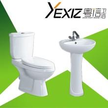 B1102 Hight quality toilet and basin / elegant design bathroom set / european style toilet