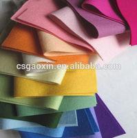 diy felt craft / sewing craft / polyester fuzzy felt