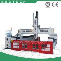 EPS Foam Boat Models Engraving CNC Machine /3D Foam cutting RCH2040