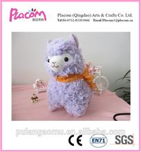2015 Hot-selling Purple Plush Sheep Toys