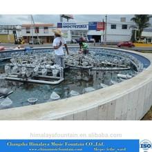 Music Fountain Installation