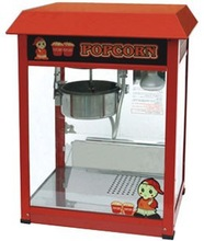 small air poped corn machine/industrial hot air popcorn machine/popcorn microwave Model HOP6B
