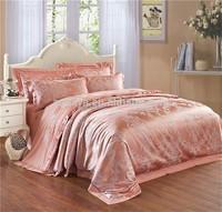 Silk-Like Luxury Comforter Duvet Cover Bedding Set Jacquard Retail