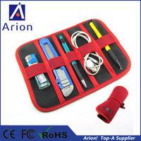 100pcs/lot wholesale Small Cocoon GRID-IT organizer case bag for USB cable Earphone Pen