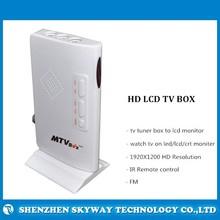 VGA LCD TV tuner Box,AV input