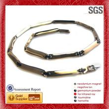 Good Material fashion trendy satine finish round ash pendant necklace