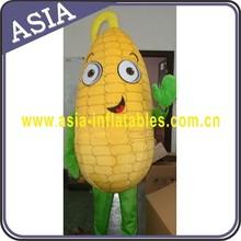 Popcorn mascot costume , cartoon plant mascot , plush popcorn mascot costume for adults