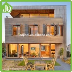 3d Rendering Modern Style Prefabricated Wooden Houses for Design