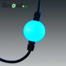 dmx RGB Led 3d led ball in holiday lighting