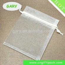 personalized organza pouch custom bag big size