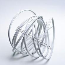 PVC Insulation Building Wire Twin cores Parallel Cable Copper Clad Aluminium Conductor