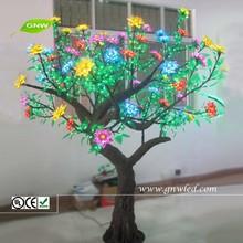 GNW tr145 Designer Christmas Tree Decorations LED Flower Tress Lighting