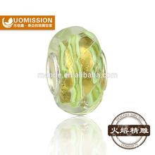 mix style single silver core european glass murano italy murano glass beads glass beads