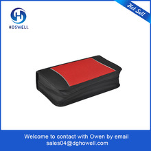 high quality PU leather mutiple CD holders DVD CD case
