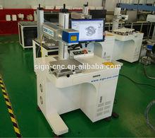 car ,pet nameplate fiber mini laser engraving machine