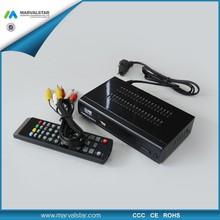 Factory DVB-T2 digital satellite receiver software download 168 mm full hd 1080p porn video MSTAR-MSD7802 for Europe Market
