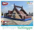 Meilleure vente des obstacles gonflables jeux de sport, enfants aire de jeux gonflables parcours d'obstacles