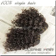 No chemical no shedding cheap raw unprocesse brazilian remy hair