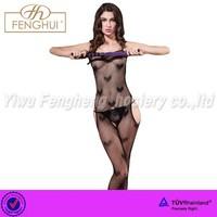 The romantic Love printing sexy body stockings