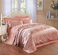 Silk-Like Luxury Comforter Duvet Cover Bedding Set Jaquard Retail