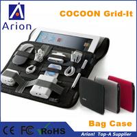 50pcs/lot 24x17cm wholesale COCOON GRID IT case Multipurpose organizer bag For ipad Digital devices